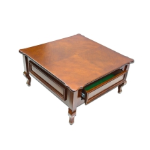 میز چوبی وسط مبل با چوب راش