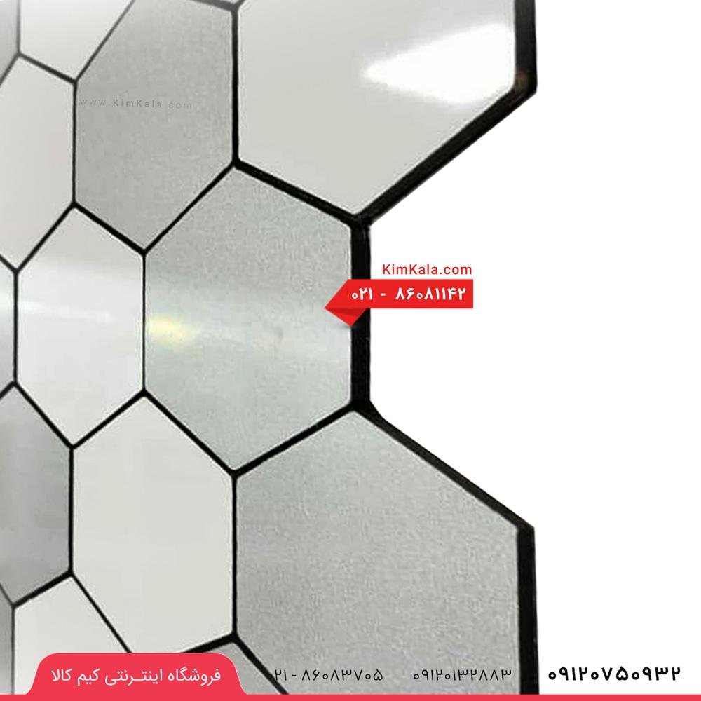 دیوار پوش چسبی لونه زنبوری مدل R2
