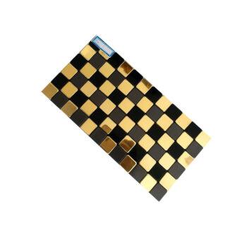 کاشی چسپی با نصب آسان R14 ، کاشی چسبی شطرنجی ، کاشی چسبدار آشپزخانه ، کاشی چسبدار طرح چوبی
