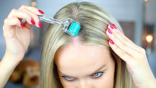 فواید درمارولر برای جلوگیری از ریزش مو